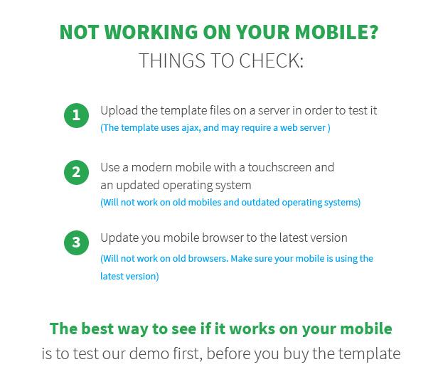 mobili Mobile Template