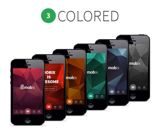 Mobix Mobile Template