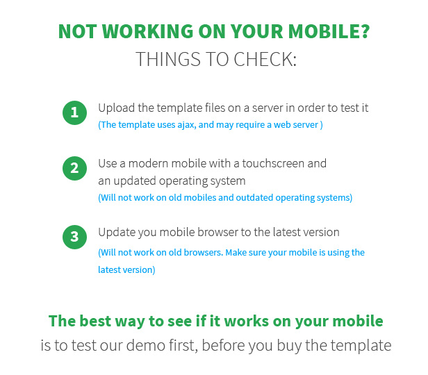 niobe Mobile Template